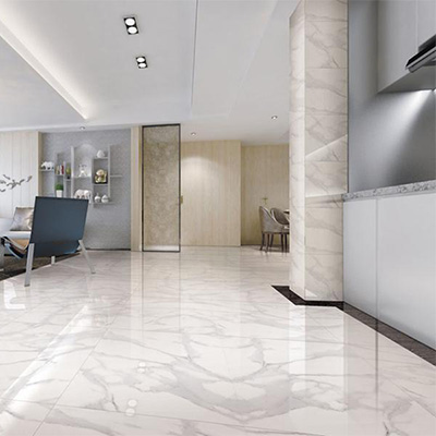 Soft Color Polished Porcelain Tile