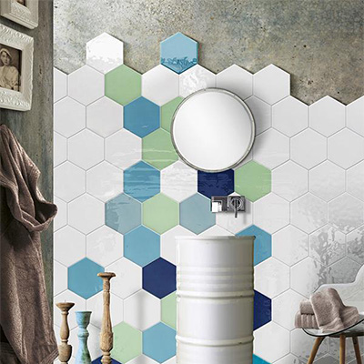 Hexagon Ceramic Tile