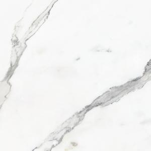 White Grey Glazed Polished Porcelain Tile, Item KDT8001-1 Floor Tile