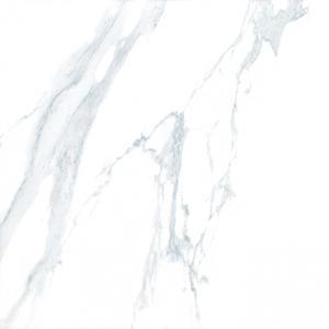 White Glazed Polished Porcelain Tile, Item KG6020T-1 Floor Tile